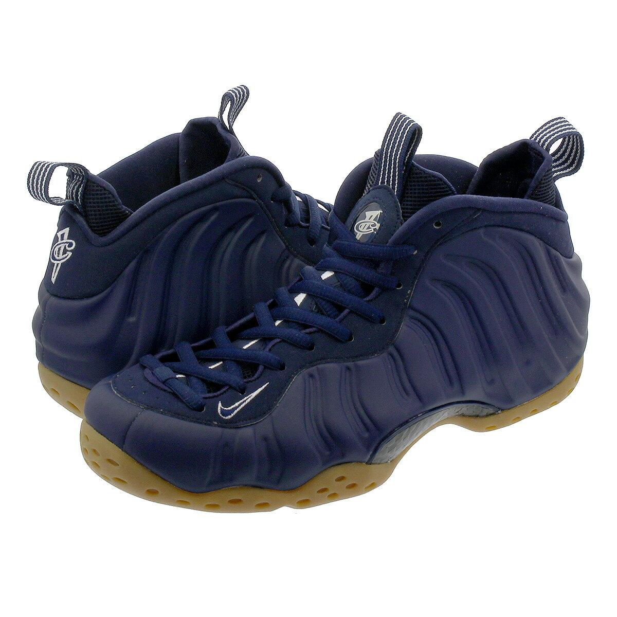 メンズ靴, スニーカー  NIKE AIR FOAMPOSITE ONE MIDNIGHT NAVYGUM LIGHT BROWN 314996-405