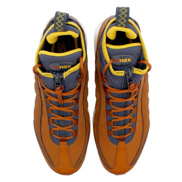 NIKE AIR MAX 95 SNEAKERBOOT ナイキ エア マックス 95 スニーカーブーツ DARK RUSSET/THUNDER BLUE/LIGHT BONE/YELLOW 806809-204