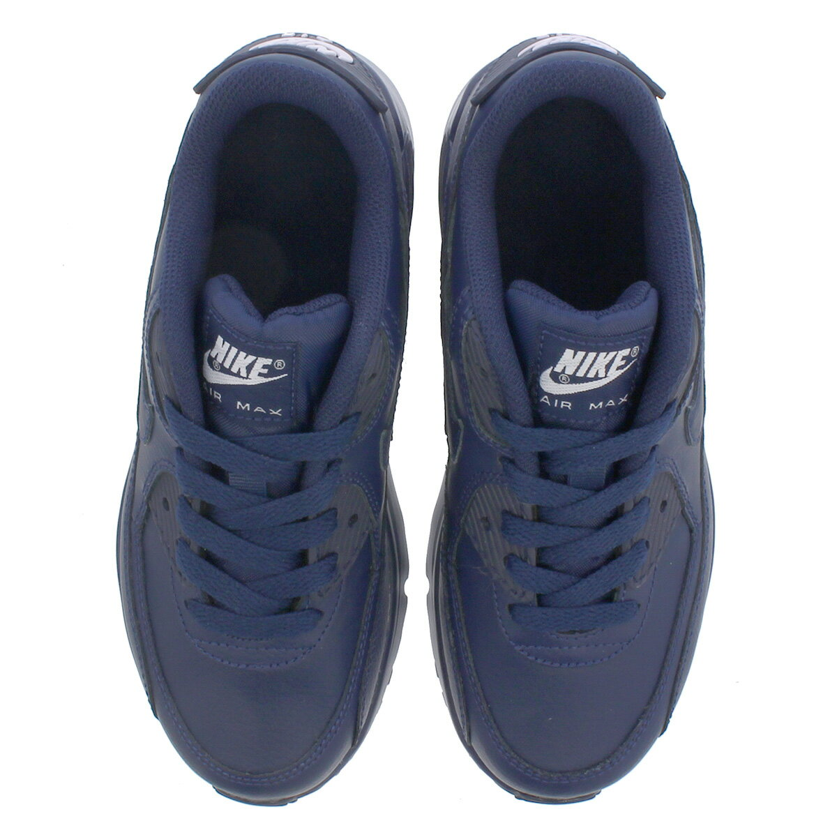 NIKE AIR MAX 90 LTR PS Kie Ney AMAX 90 leather PS MIDNIGHT NAVYWHITE 833,414 412