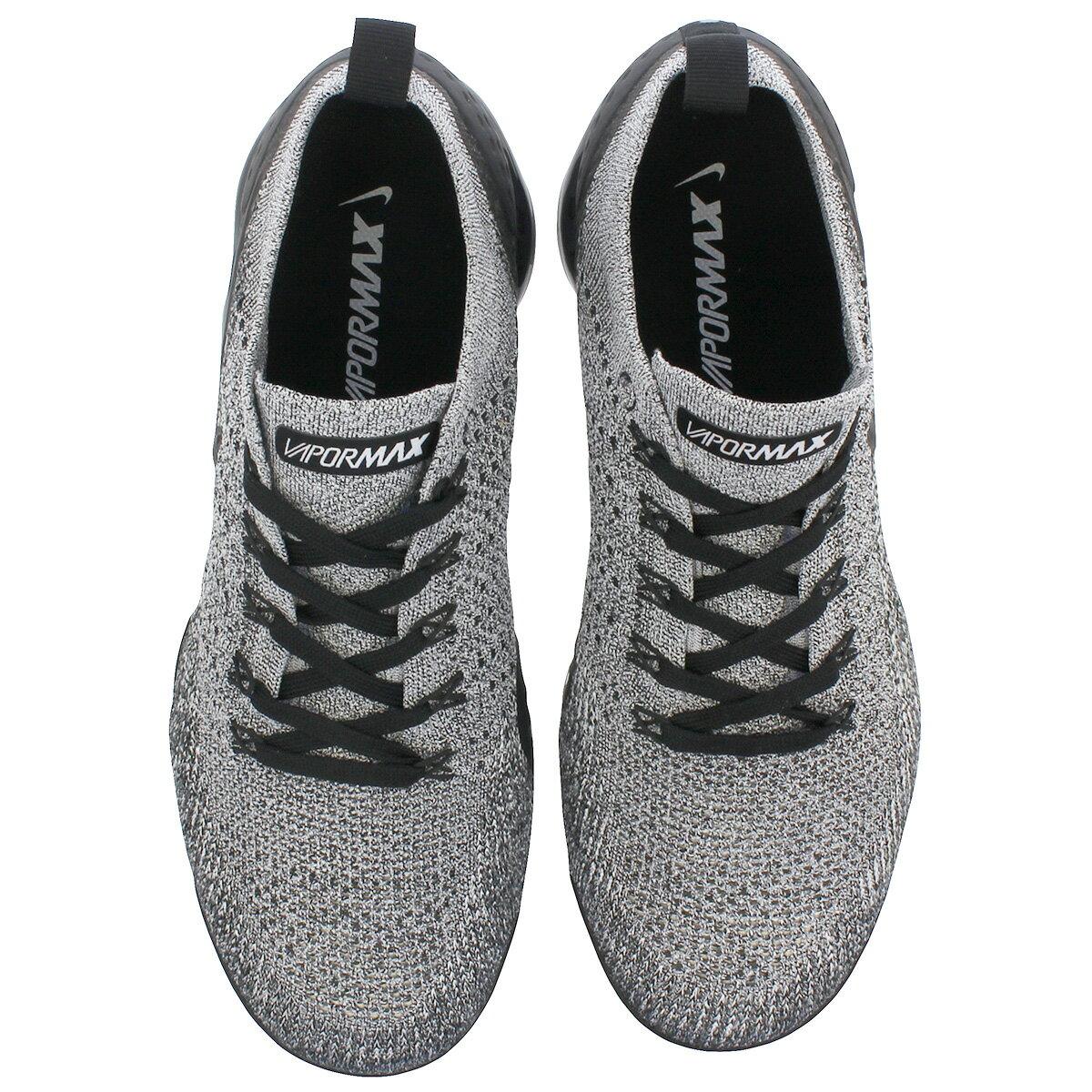 NIKE AIR VAPORMAX FLYKNIT 2 Nike vapor max fried food knit 2 WHITEBLACKBLACK 942,842 107