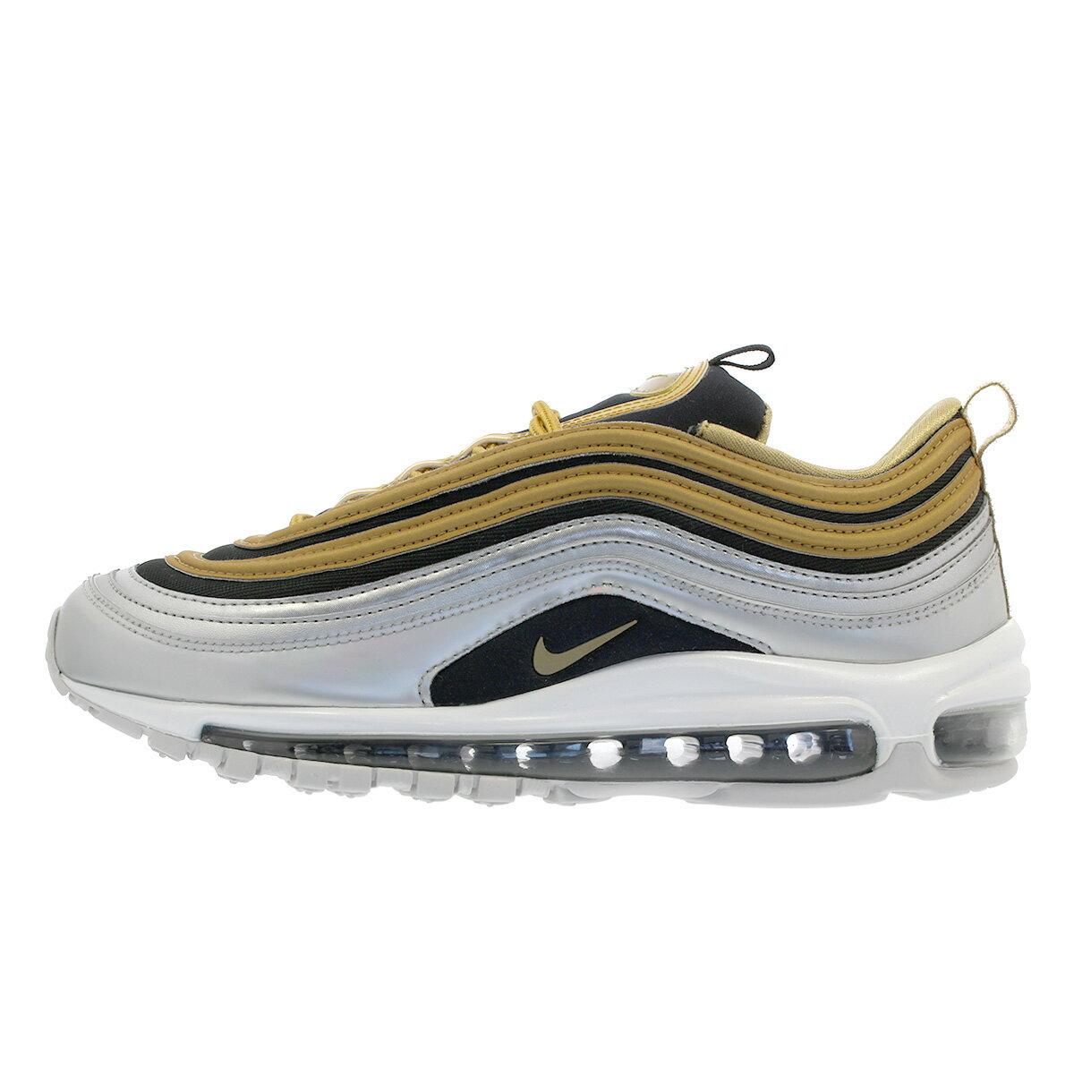 Nike Wmns Air Max 97 SE Metallic Gold Silver Black Women Shoe Sneaker AQ4137-700