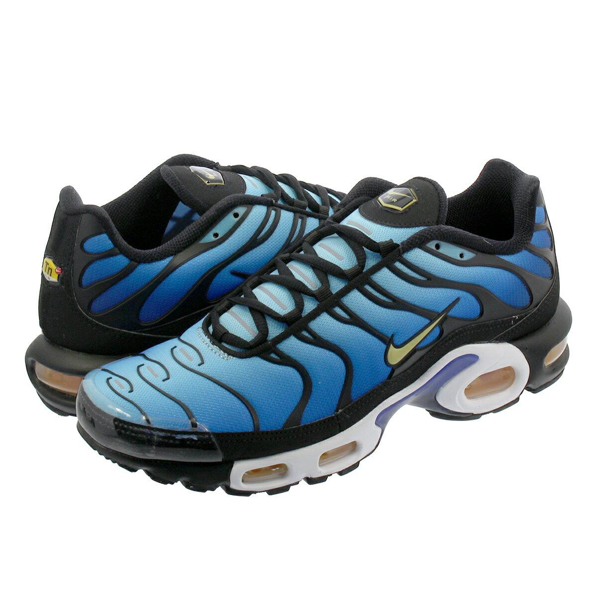 メンズ靴, スニーカー NIKE AIR MAX PLUS OG OG BLACKCHAMOISSKY BLUEHYPER BLUE bq4629-003