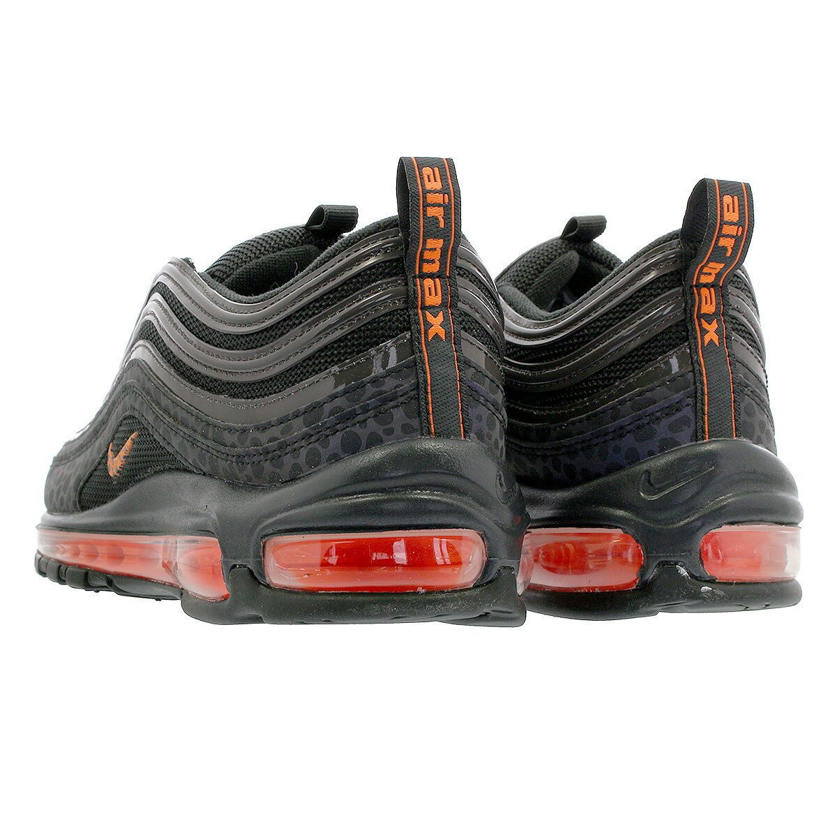 Air Max 97 Se Reflective Sneaker Low Off Noirtotal Orange
