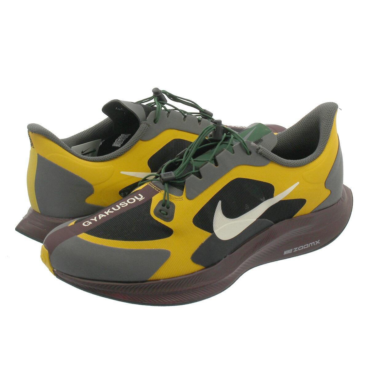 メンズ靴, スニーカー NIKE ZOOM PEGASUS 35 TURBO GYAKUSOU 35 GOLD DARTPALE IVORYIRON GREY bq0579-700