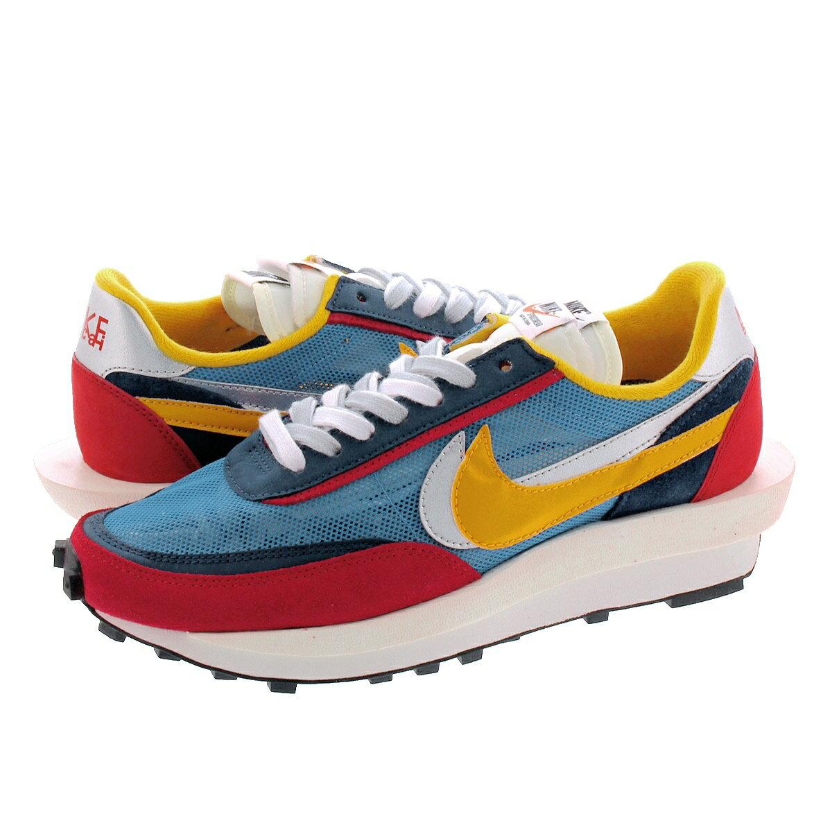 メンズ靴, スニーカー sacai x NIKE LD WAFFLE x LD VARSITY BLUEDEL SOL bv0073-400