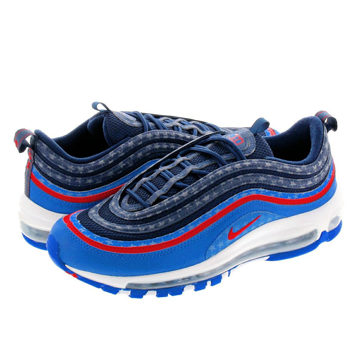 メンズ靴, スニーカー NIKE AIR MAX 97 97 GAME ROYALUNIVERSITY REDMIDNIGHT NAVY cd7791-400