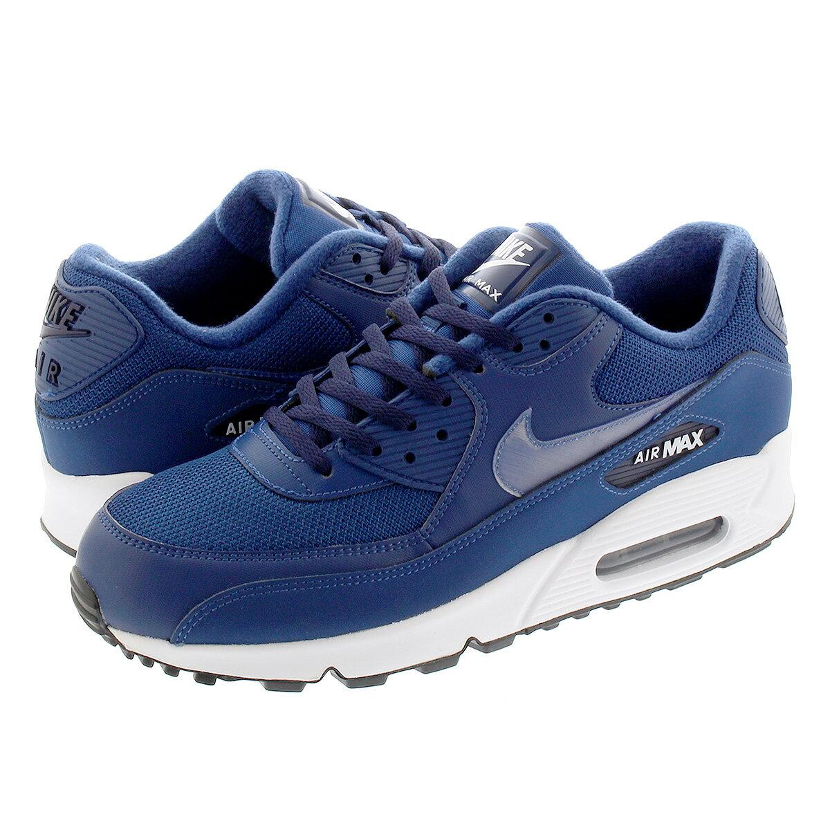 メンズ靴, スニーカー NIKE AIR MAX 90 ESSENTIAL 90 MIDNIGHT NAVYWHITE aj1285-406