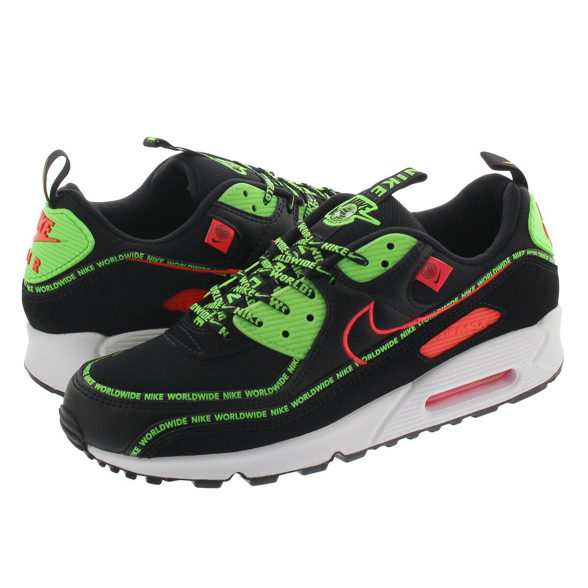 メンズ靴, スニーカー  NIKE AIR MAX 90 WW WORLD WIDE PACK 90 WW BLACKFLASH CRIMSON ck6474-001