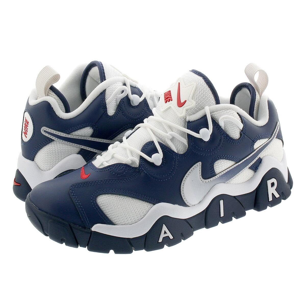 メンズ靴, スニーカー  NIKE AIR BARRAGE LOW USA MIDNIGHT NAVYWHITEUNIVERSITY REDMETALLIC SILVER cn0060-400