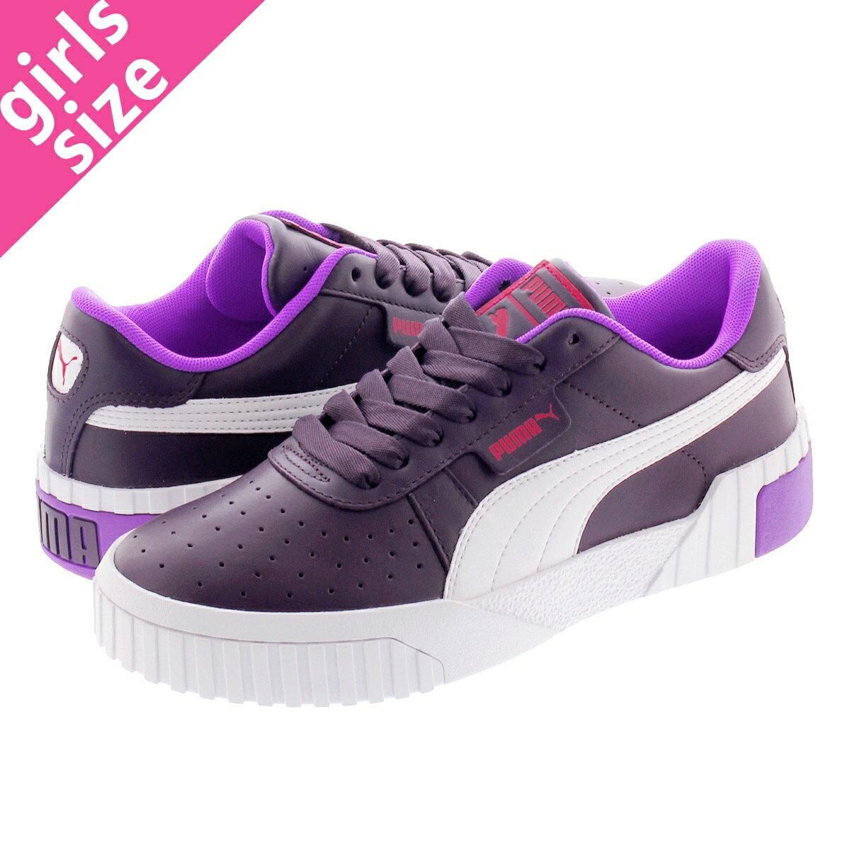 レディース靴, スニーカー PUMA CALI CHASE WNS PLUM PURPLENRGY ROSE 369970-01
