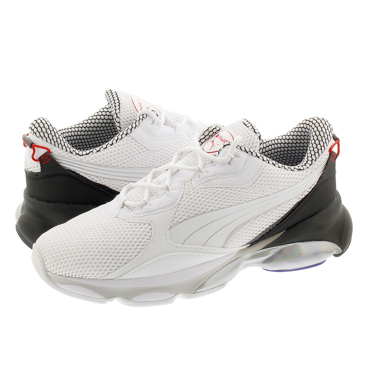 メンズ靴, スニーカー  PUMA CELL DOME GALAXY WHITEBLACK 371763-01