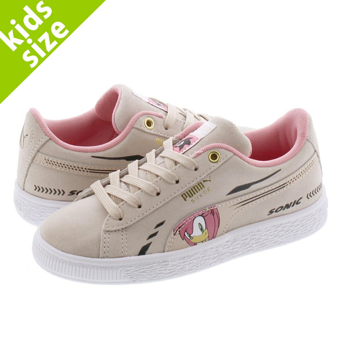 靴, スニーカー  17.021.0cmPUMA x SEGA SUEDE SONIC PS x PS ROSEWATER 371998-02