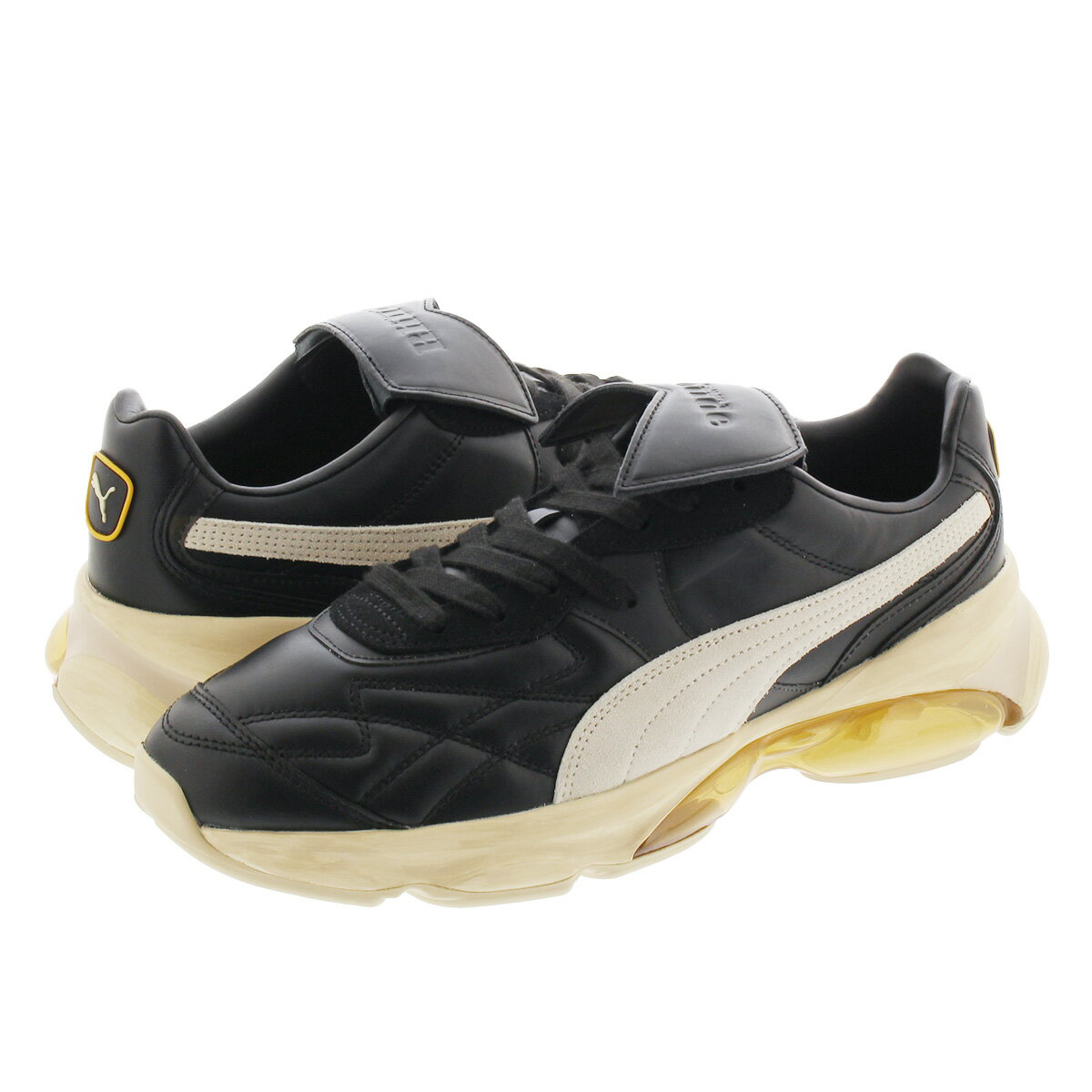 メンズ靴, スニーカー PUMA CELL KING RHUDE BLACKOATMEAL 371389-01