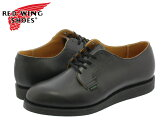 RED WING 101 POSTMAN BOOT OXFORD 【MADE IN U.S.A.】 レッドウイング ポストマン ブーツ オックス フォード BLACK 【Dワイズ】