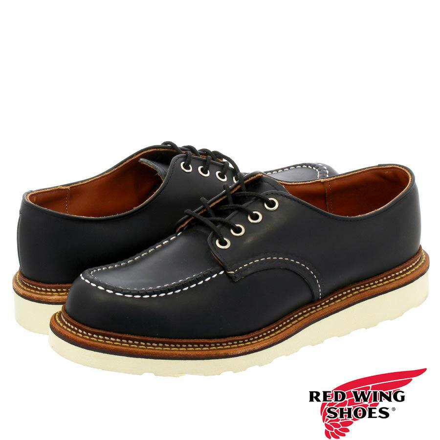 ブーツ, その他 RED WING WORK OXFORDMADE IN U.S.A. BLACK