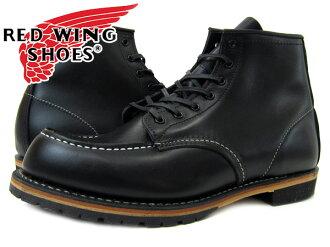 REDWING BECKMAN BOOT CLASSIC DRESS MOC TOE BLACK 9015