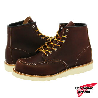 REDWING IRISH SETTER MOC TOE BOOT BROWN 8138