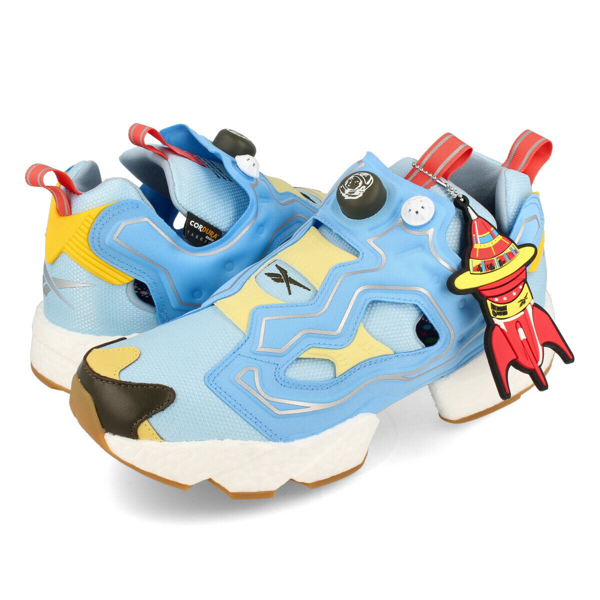 メンズ靴, スニーカー Reebok INSTAPUMP FURY BOOST BILLIONAIRE BOYS CLUB DANDY BLUESKY BLUEYELLOW SENSATION gz5362