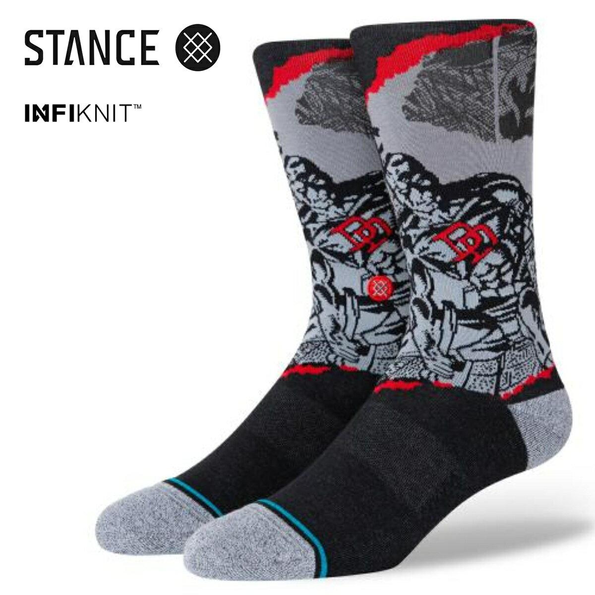 ユニセックス, 靴下・レッグウェア STANCE SOCKS THE DAREDEVIL BLACK a545d20dar