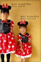 ☆ミニーちゃん子供用ワンピースドレス