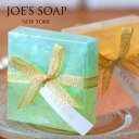 JOE'S SOAP(ジョーズソープ) グラスソープミニ 石鹸 洗顔料 洗顔石鹸 石けん 洗顔 保湿 ボディソープ 泡 40g 植物性グリセリン 誕生日 ギフト クリスマス プレゼント 結婚式 出産 内祝い お返し 2次会 プチギフト 女性 女友達 [WRZ]【楽ギフ_包装】【HLS_DU】