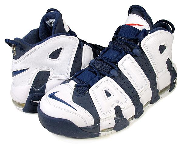 メンズ靴, スニーカー !! !! NIKE AIR MORE UPTEMPO OLYMPIC PACK 2012 m.nvym.nvy-wht-red 414962-401