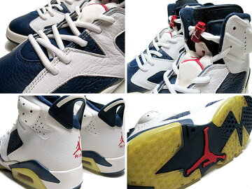 "NIKEAIRJORDAN6RETRO""OLYMPIC""m。navy/v.red-wht"
