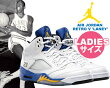 "NIKEAIRJORDAN5RETROGS""LANEY""wht/v.maize-v.royal-blk"
