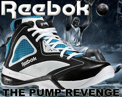 REEBOK THE PUMP REVENGE wht/ble-blk