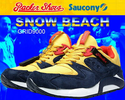 Saucony×Packer Shoes GRID9000 SNOW BEACH