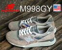 ★お求めやすく価格改定★NEW BALANCE M998GY MADE IN U.S.A.