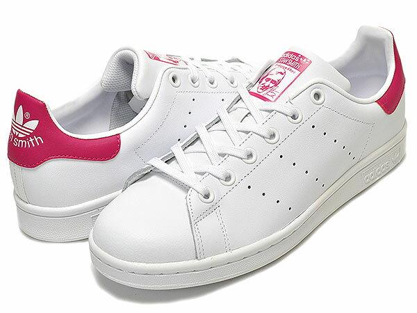 レディース靴, スニーカー  225OUTLET adidas STAN SMITH J ftwwhtftwwhtbopink b32703