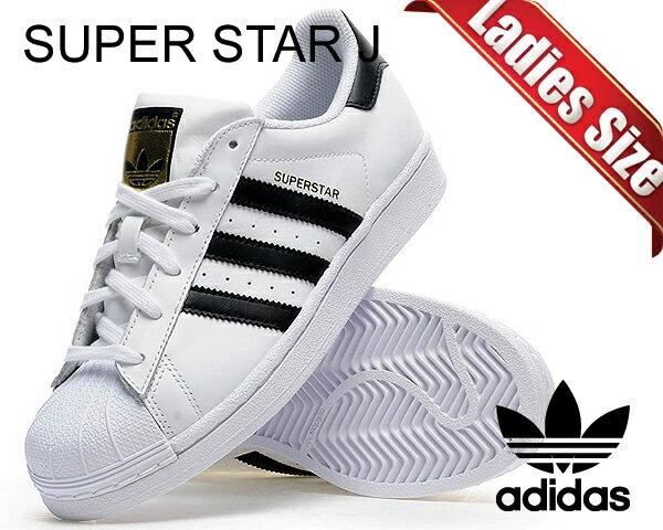 レディース靴, スニーカー !! !! adidas SUPER STAR J ftwwhtcblkftwwht SS