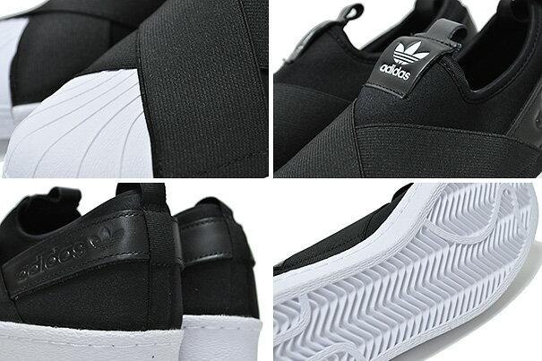 最大2,000円OFFクーポン発行中!★お求めやすく価格改定★あす楽対応adidas SUPERSTAR SLIP ON W cblack/cblack-ftwhtSUPERSTAR SLIP ON