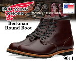 "REDWINGBECKMANBOOTSROUND-TOE""BLACKCHERRY"""