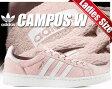 最大3,000円OFFクーポン発行中!【アディダス スニーカー キャンパス レディースサイズ】adidas CAMPUS W icepnk/ftwht-crywht【アイシーピンク×ホワイト】