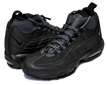 お得な割引クーポン発行中!!【送料無料 ナイキ エアマックス 95 スニーカーブーツ】NIKE AIR MAX 95 SNEAKERBOOT black/black-anthracite-white【メンズ スニーカー エアマックス AIRMAX 95 ブーツ BOOTS ブラック】