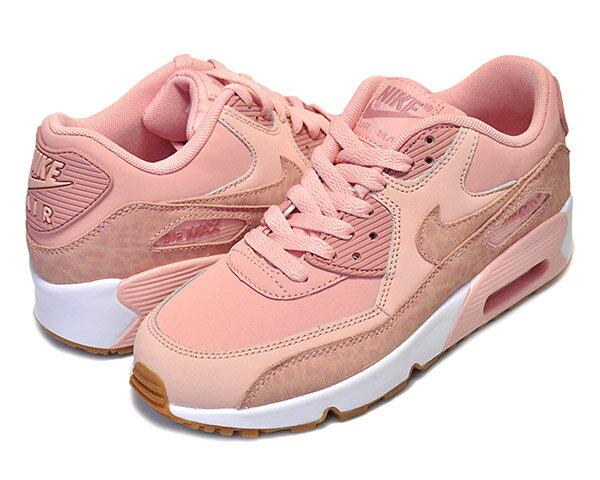 レディース靴, スニーカー !! !! 90 GGNIKE AIR MAX 90 LTR SE GG coral stardustrust pink-white