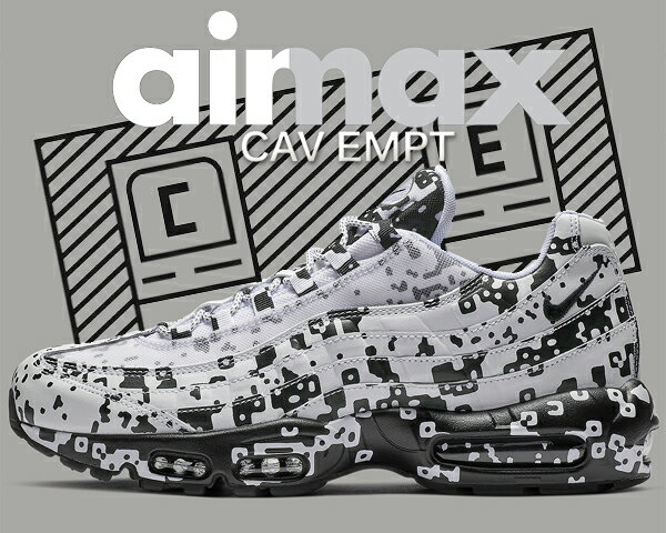 メンズ靴, スニーカー !! !! 95 C.E.NIKE AIR MAX 95C.E av0765-100 whiteblack-stealth Cav Empt SK8THING