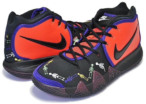 メンズ靴, スニーカー !! !! 4NIKE KYRIE 4 DOTD TV PE 1 team orangeblack-multi-colorDAY OF THE DEAD NIKE SB