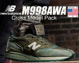 お得な割引クーポン発行中!!【あす楽 対応!!】【送料無料 ニューバランス 998】NEW BALANCE M998AWA MADE IN U.S.A. NB M998 AWA USA メンズ スニーカー Cross Model Pack