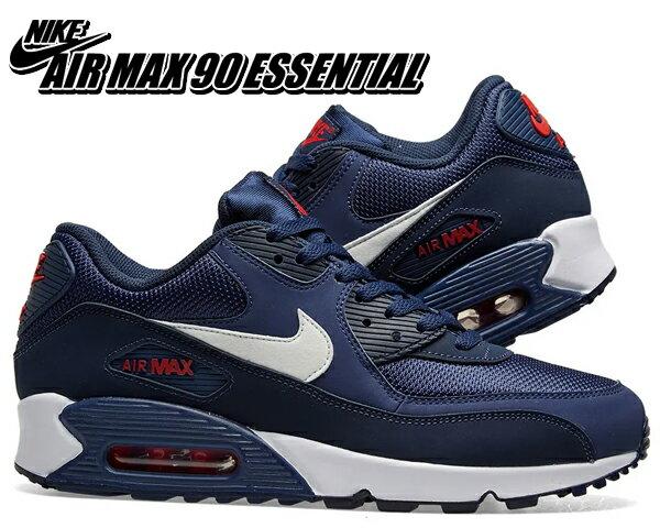 メンズ靴, スニーカー !! !! 90NIKE AIR MAX 90 ESSENTIAL midnight navywhite aj1285-403