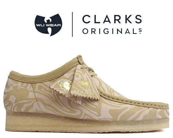 メンズ靴, その他 !! !! CLARKS WALLABEE LOW Wu Tang Clan MAPLE ERABLE 47058 Ice Cream Glaciers of Ice