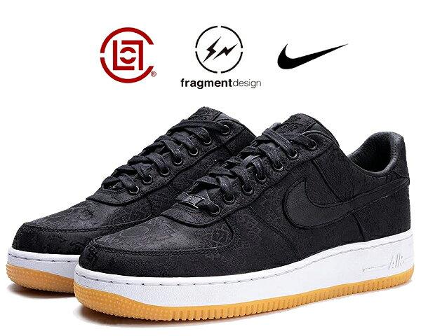 メンズ靴, スニーカー !! !! 1 07 NIKE AIR FORCE 1 CLOTFRAGMENT DESIGN blackuniversity red-white cz3986-001 Black Silk AF1