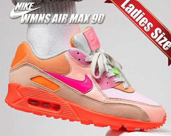レディース靴, スニーカー !! !! 90NIKE WMNS AIR MAX 90 bright crimsonpurple platinum ct3449-600 PINK JDI NBHD AM90