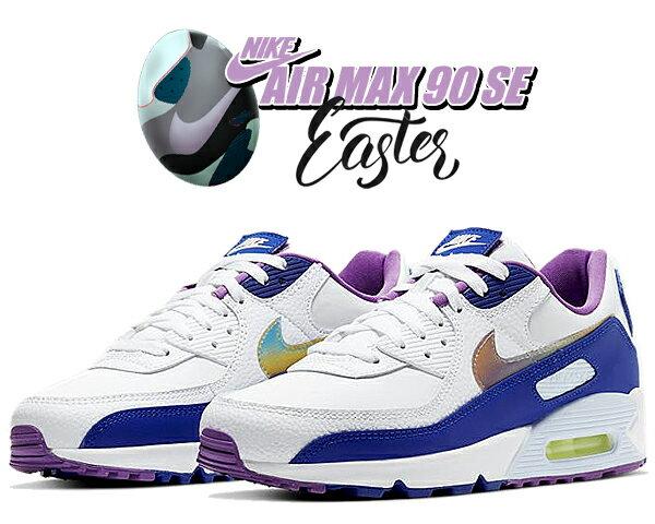 メンズ靴, スニーカー !! !! 90 SENIKE AIR MAX 90 SE EASTER 2020 whitemulti-color-washed coral ct3623-100 AM90