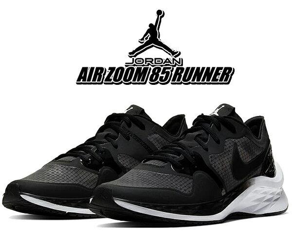 メンズ靴, スニーカー !! !! 85 NIKE JORDAN AIR ZOOM 85 RUNNER blackblack-white ci0055-001 AJ