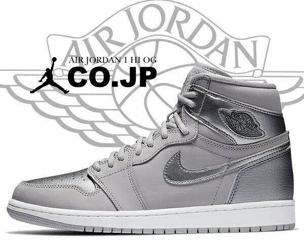 メンズ靴, スニーカー !! !! 1 OGNIKE AIR JORDAN 1 HI OG CO.JP neutral greymetallic silver dc1788-029 AJ1