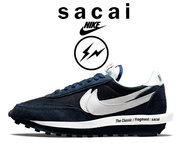メンズ靴, スニーカー !! !! LDNIKE LDWAFFLE SACAI FRAGMENT DESIGN blue voidwhite-obsidian-white dh2684-400