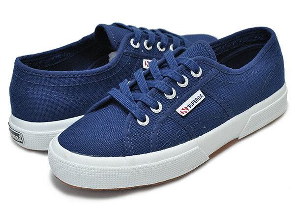レディース靴, スニーカー !! !!SUPERGA SUPERGA COTU CLASSIC 2750 BLUE MID S000010 X1Y SUPERGA